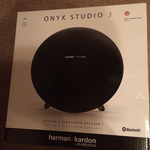Onyx Mini Portable Wireless Speaker – Black – Harman/kardon