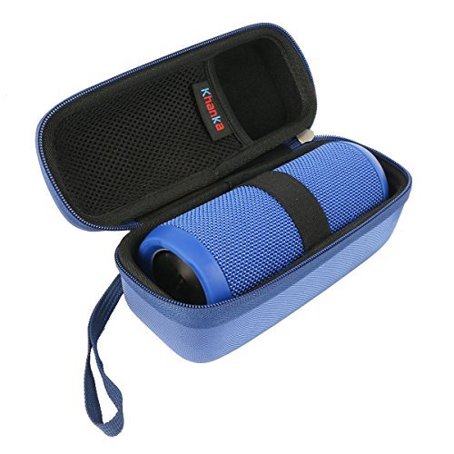 JBL Flip 3 Splashproof Portable Bluetooth Speaker, Blue