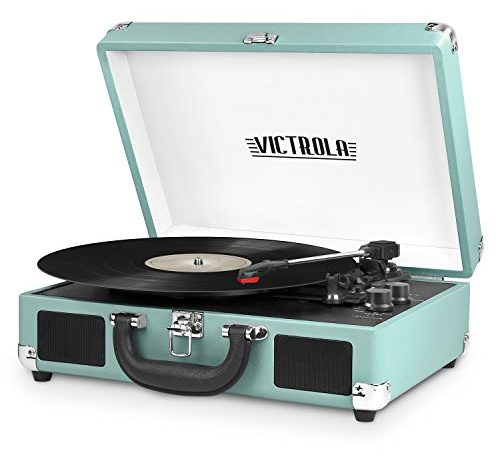 Victrola Vintage 3 Speed Bluetooth Suitcase Turntable With