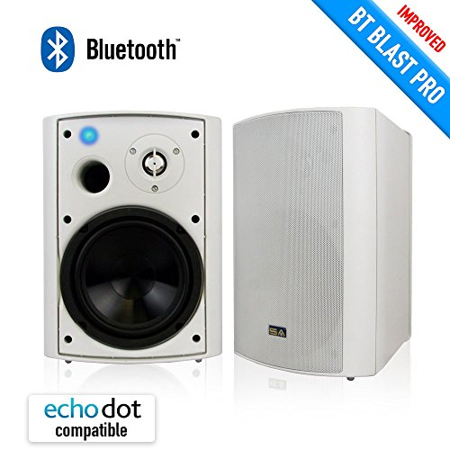 Bluetooth 6 50 U2033 Indoor  Outdoor Weatherproof Patio Speakers