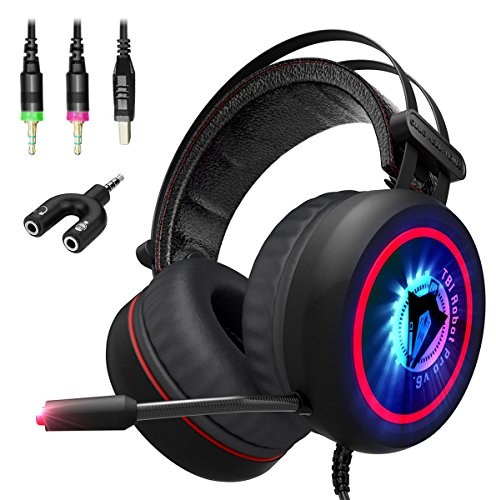 NEW 2018 Upgraded Gaming Headset with Mic for PC, XBox One S