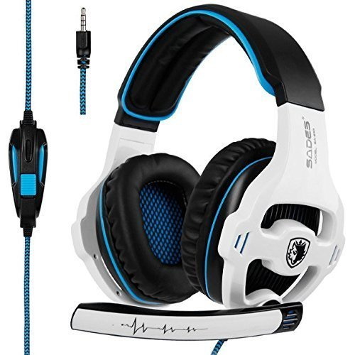 SADES SA810 New Updated Xbox One mic PS4 Headset Over Ear Stereo
