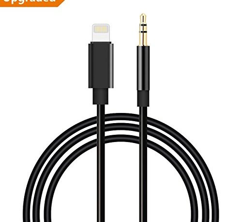 Lightning To 3 5mm Male: WamGra Lightning To 3.5mm Male Aux Stereo Audio