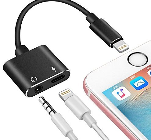 lightning to aux headphone jack audio adapter for. Black Bedroom Furniture Sets. Home Design Ideas