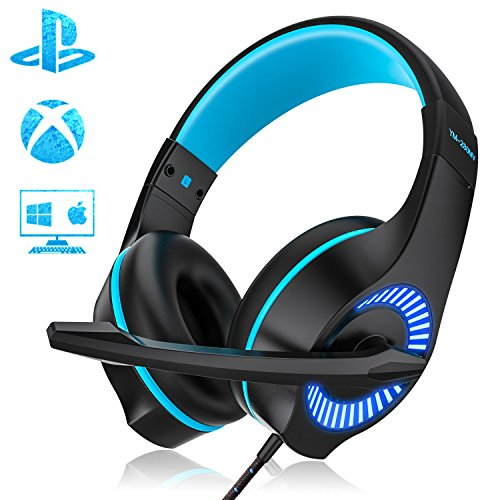 AceMining Gaming Headset,USB Headset,Wired Headset with