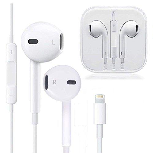 Maltzs Lightning Headphones/Earphones/Earbuds, Built-in
