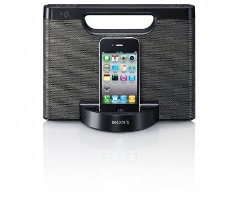 Sony RDPM5IP 30-Pin iPhone/iPod Portable Speaker Dock ...
