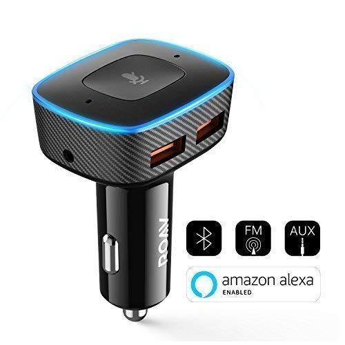 Roav Viva Pro Anker, Alexa-Enabled 2-Port USB Car Charger