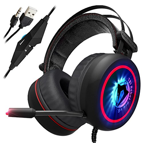 Newest 2019 Upgraded Gaming Headset for Xbox One, PS4, PC