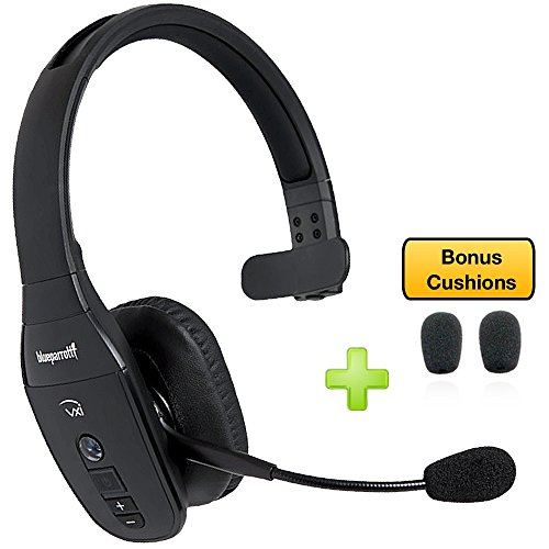 665e48e987a Compatible with Smartphones, Tablets, Unified Communications – VXi  BlueParrott B450-XT – 204010-C Bluetooth Headset Cushion Bonus Pack | Car  Charger and ...