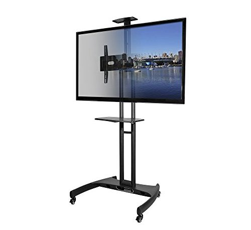 Kanto MTM65PL Mobile TV Stand with Mount for 37 to 65 inch Flat